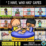 ESL NEWCOMER GAMES: I have, who has? Bundle # 1