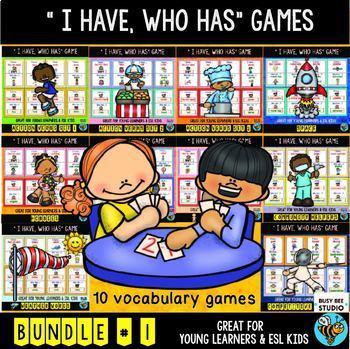 ESL NEWCOMER GAMES: I have, who has? Bundle # 1