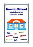 ESL : New to School