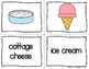 ESL Newcomer Dairy Vocabulary Activities