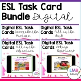 ESL Newcomer Activities: Digital Task Card Bundle