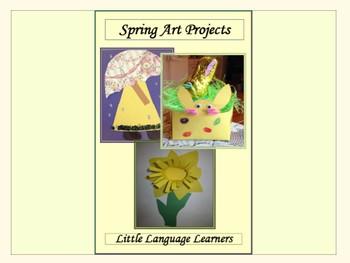 ESL Newcomer Activities - Spring Bundle!