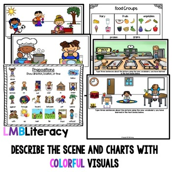 ESL Newcomer Activities, Vocabulary for ELLs Bundle, Digital Version