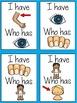 ESL Vocabulary - Body Parts  (I Have, Who Has ESL Game)