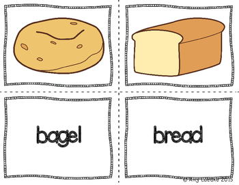 ESL Newcomer Breads and Grains Vocabulary Activities