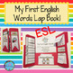 ESL Newcomer Bundle Lapbook:Verbs, My First English Words,