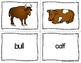 ESL Newcomer Farm Animal Vocabulary Activities