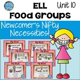 ESL Newcomer Activities Food Groups Unit 10  ESL Vocabular