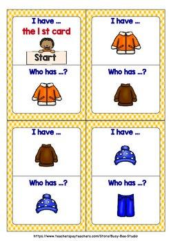 Vocabulary Game | Clothes