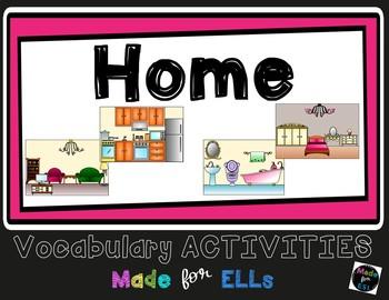 ESL Newcomer Home Vocabulary Activities