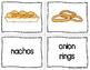 ESL Newcomer Junk Food and Treats Vocabulary Activities