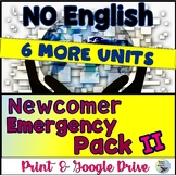 ESL Newcomers Activities: Distance Learning Newcomer Pack 2