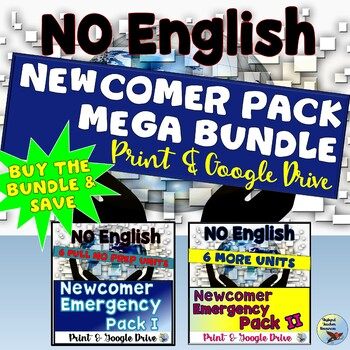 ESL Activities Newcomer Pack Mega Bundle - Buy the Bundle & Save