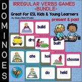 Irregular Past Tense Verbs Game - BUNDLE