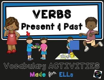 ESL Newcomer Verb Vocabulary Activities
