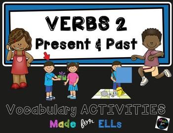 ESL Newcomer Verb Vocabulary Activities #2