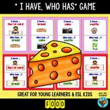 ESL Newcomer Vocabulary Game: Food
