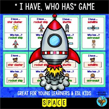 I have who has | Space Words