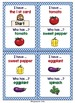 ESL Newcomer Vocabulary Game: Vegetables