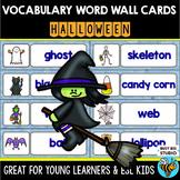 ESL Newcomer Word Walls: Halloween