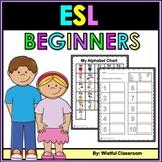 ESL Newcomers- Beginners Workbook No Prep