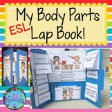 ESL Body Parts - ESL Vocabulary For Beginners  (Fun ELL Activity)