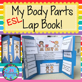 ESL Body Parts - ESL Vocabulary For Beginners  (Fun Newcomers ELL Activity)