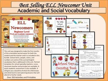 ELL Newcomers' Survival Kit Bundle -  ESL Curriculum and Resources
