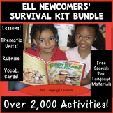 ELL Newcomers' Survival Kit Bundle -  ESL Curriculum and E