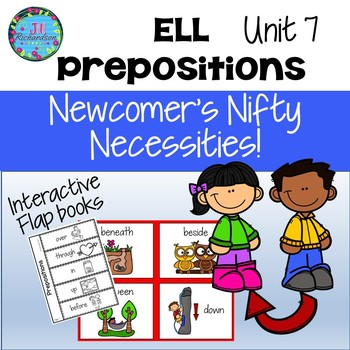 ESL Prepositions-  Unit 7 ELL Activities ESL Newcomers