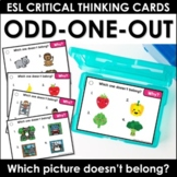 Speaking Practice Task Cards: Odd one out - Which object d