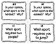 ESL Olympic Sports Task Cards