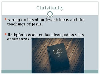 ESL Origins of Christianity