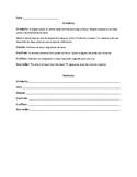 ESL Origins of Christianity Vocabulary Sheet