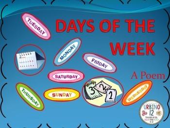 POEM: DAYS OF THE WEEK