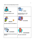 ESL Packet: Health and Going to the Doctors