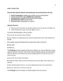 ESL Packet: Running Errands
