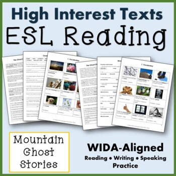 ESL Paired Texts:  The Ghost Choir of Roan Mountain/The Ghosts of Mount Everest
