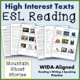 ESL Paired Texts:  The Ghost Choir of Roan Mountain/The Gh