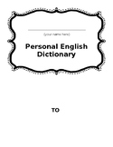 ESL Personal English Dictionary (Beginner)
