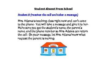 ESL Phone Messages