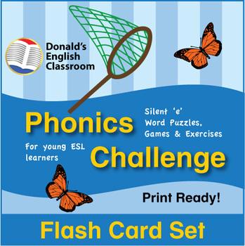 ESL Phonics Challenge, Book 1 - Flash Cards