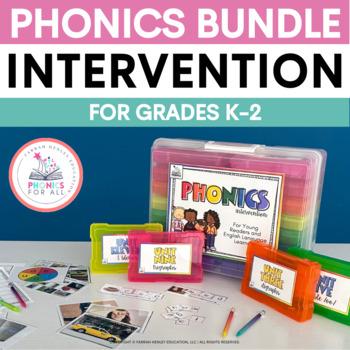 ESL Phonics Intervention MEGA BUNDLE -- RTI Activities for ELLs