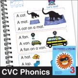 ESL Phonics & Spelling, Book 2-3