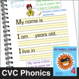 ESL Phonics & Spelling, Book 2-4