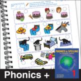 ESL Phonics & Spelling, Book 4-1