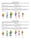 ESL Physical Description VOCAB Lesson