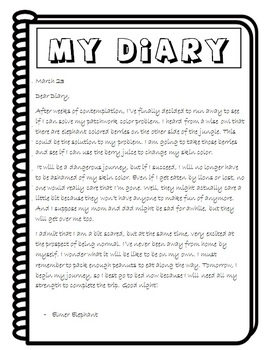 ESL Picture Book Story Writing
