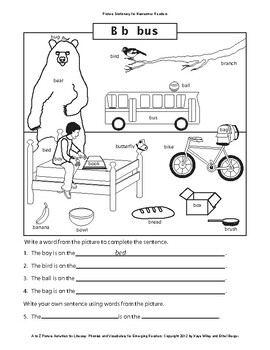 Picture Dictionary for Beginning Readers and ESL Newcomers