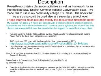 ESL PowerPoint Lesson: Conversations & Idioms (6a)